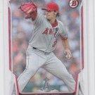 C.J. Wilson Baseball Card 2014 Bowman #147 Angels