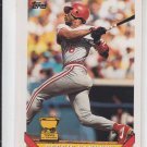 Reggie Sanders 2nd Year Baseball Trading Card 1993 Topps #83 Reds QTY Available