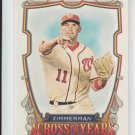 Ryan Zimmerman Across The Years 2013 Topps Allen & Ginter #ATY-RZ Nationals