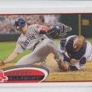 Jacoby Ellsbury 2012 Topps Series 1 #170 Yankees QTY