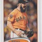 Brian Wilson Baseball Trading Card 2012 Topps #260 Giants Dodgers