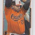 Nelson Cruz Basebal Trading Card 2014 Topps Series 2 #453 Orioles