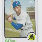 Ernie Banks Baseball Trading Card 2014 Topps Archives #44 Cubs