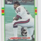 Lawrence Taylor All Pro 1989 Topps #166 Giants Sharp!