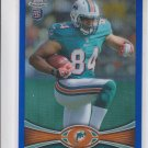 Michael Egnew Blue Refractor RC 2012 Topps Chrome #2 133/199