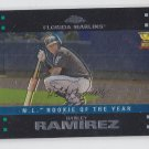 Hanley Ramirez Baseball Trrading Card 2007 Topps Chrome #255 Marlins