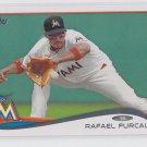Rafael Furcal Basebal Trading Card 2014 Topps Series 2 #506 Marlins