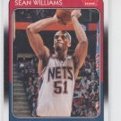 Sean Williams 88-89 Retro 2008-09 Fleer #70 Nets
