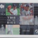 Daisuke Matsuzaka & Hideki Okajima 2007 UD Future Stars #TSMD Red Sox 309/999