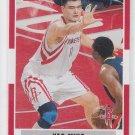Yao Ming Basketball Trading Card 2007-08 Fleer #169 Rockets