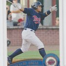 Oswaldo Arcia Prospect Trading Card 2011 Topps Pro Debut #15 Twins