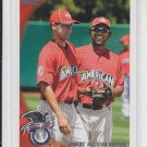 Derek Jeter Elvis Andrus Checklist 2010 Topps Update Series #US-57 Yankees