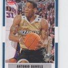 Antonio Daniels Basketball Trading Card 2007-08 Fleer #46 Wizards
