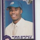 Quentin Jackson Rookie Card Draft Pick 2000-01 Topps  RC #141 Clippers
