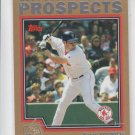 Kevin Youkilis Gold Prospect 2004 Topps Traded #T100 Yankees 0099/2004