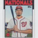 Anthony Rendon Baseball Trading Card 2014 Topps Archives #148 Nationals
