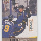 Chris Stewart Canvas Parallel SP 2013-14 Upper Deck Series 1 #C54 Blues