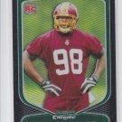 Brian Orakpo Rookie Card Refractors 2009 Bowman Chrome RC #147 Redskins