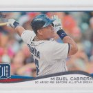 Miguel Cabrera Baseball Trading Card CL 2014 Topps Series 1 #149 Tigers
