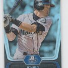 Ichiro Suzuki Baseball Trading Card 2012 Bowman Platinum #8 Yankees