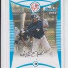 Austin Jackson 1st Prospect Card 2008 Bowman #BP50 Yankees