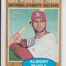 Albert Pujols All Star Card 2011 Topps Heritage #390 Angels Cardinals
