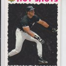 Frank Thomas Hot Shots 1993 Upper Deck #21 White Sox Sharp! HOF 2014
