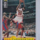 Michael Jordan NBA FunDamentals 1996-97 UD Collector's Choice #195 Bulls