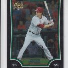 Drew Sutton Rookie Card 2009 Bowman Chrome Draft #BDP34 Reds