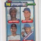 Jeromy Burnitz Alan Cockrell Rookie Card 1992 Topps Prospects #591 Mets