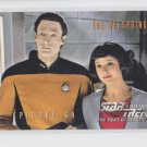 The Offspring EP 64 1995 Skybox Star Trek The Next Generation #266 * ED
