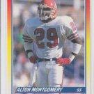 Alton Montgomery Rookie Card 1990 Score #649 Broncos