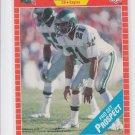 Eric Allen Rookie Card 1989 Pro Set #533 Seahawks