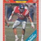 Wesley Walls Rookie Card 1989 Pro Set #538 49ers