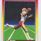 Art Monk Rocket Man Football Trading Card 1990 Score #557 RedSkins