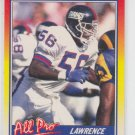 Lawrence Taylor All Pro Football Trading Card 1990 Score #571 Giants