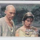 Captains Holiday Ep 67 1995 Skybox Star Trek The Next Generation #287 *ED