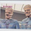 Allegiance Ep 66 1995 Skybox Star Trek The Next Generation #285 *ED