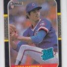 Greg Maddux Rookie Card 1987 Donruss #36 Braves HOF