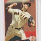 Tim Lincecum Baseball Trading Card 2009 Topps #195 Giants
