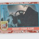 Desert Storm Slang Trading Card 1991 Topps Desert Storm Series 2 #145