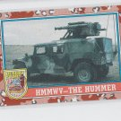 The Hummer HMMWV Trading Card 1991 Topps Desert Storm Series 2 #99