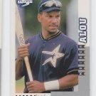 Moises Alou Baseball Trading Card 1998 Score Rookies & Traded #148 Astros