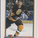 Ken Hodge RC Hockey Trading Card 1990-91 Bowman #362 Bruins