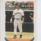 Gary Sheffield Baseball Trading Card 1993 Topps #140 Padres