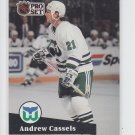 Andrew Cassels Hockey Trading Card 1991-92 Pro Set #395 Whalers