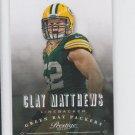 Clay Matthews Football Trading Card 2013 Panini Prestige #76 Packers