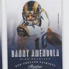 Danny Amendola Football Trading Card 2013 Panini Prestige #114 Patriots