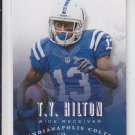 T.Y. Hilton Football Trading Card 2013 Panini Prestige #85 Colts