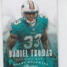 Daniel Thomas Football Trading Card 2013 Panini Prestige #104 Dolphins